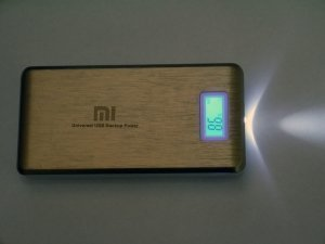 power bank xiaomi 28000 mah 2 usb  lcd-экран фонарь