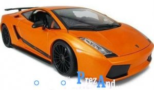 авто-конструктор lamborghini gallardo superleggera 18-25089