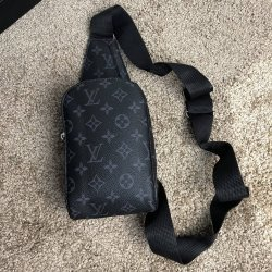 Сумка мужская Louis Vuitton Bumbag Monogram Eclipse