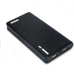 Power Bank 20000 mAh 2 USB Фонарь