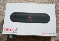 колонки beats pill black