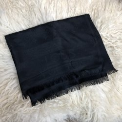 Шарф мужской scarves louis vuitton monogram black