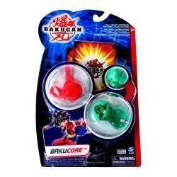 Стартовый набор Bakugan Battle Brawlers Bakucore 3в1: бакуганы 3,2 см, 3 карты